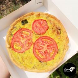 Quiche Tomates & Courgettes...